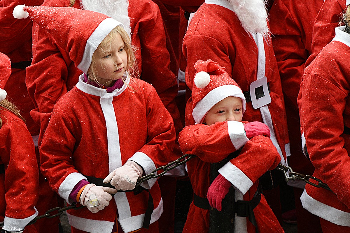 Stockholm Santa Run 2016